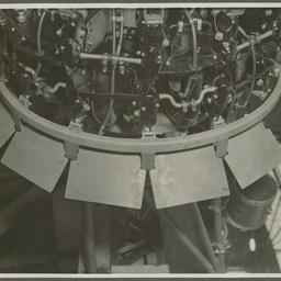 Motor of a CAC aircraft.