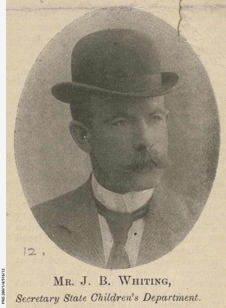 Portrait of J.B. Whiting