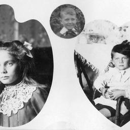 John E. Searcy's three children