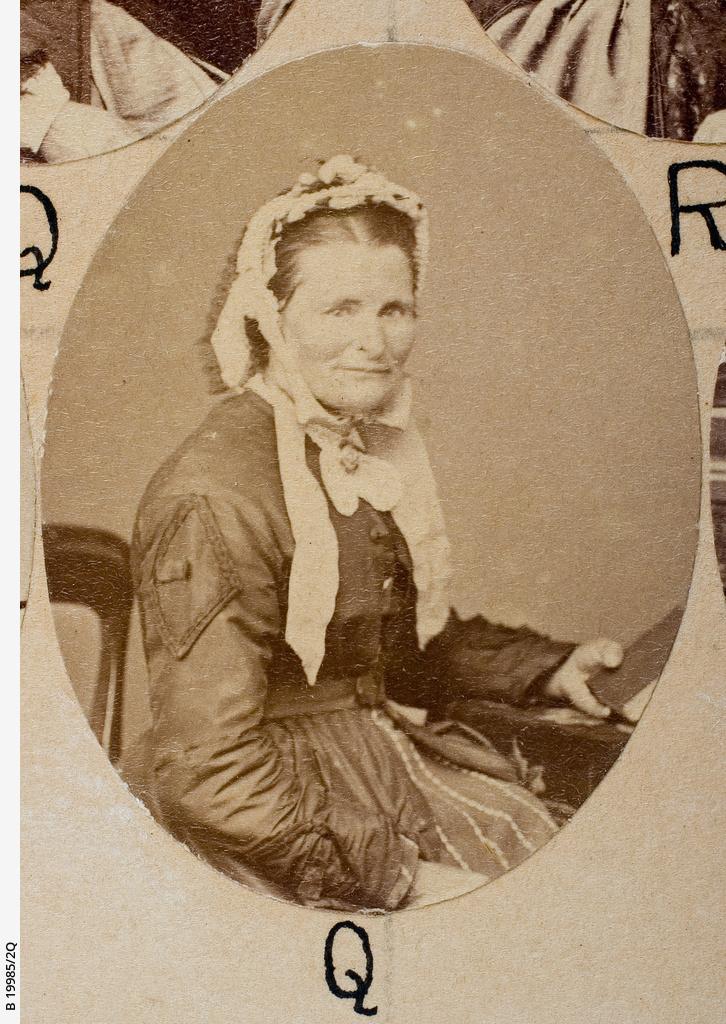 Group of [women] Old Colonists : Rachel Wilkey