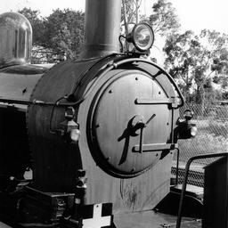 A F251 train engine on the way to Gawler