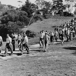 Crowd at Kooyonga Golf Course
