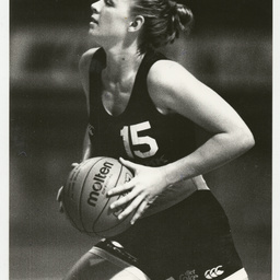 Photographs relating to women's basketball