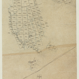 [Tracing of sections in the Hundred of Upper Wakefield] [cartographic material]