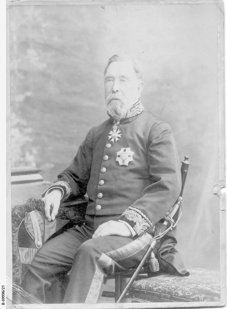 Charles Todd in later life