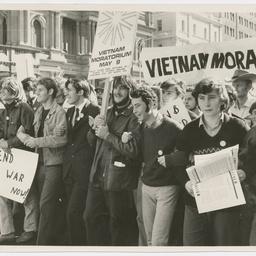 Vietnam War Moratorium rally