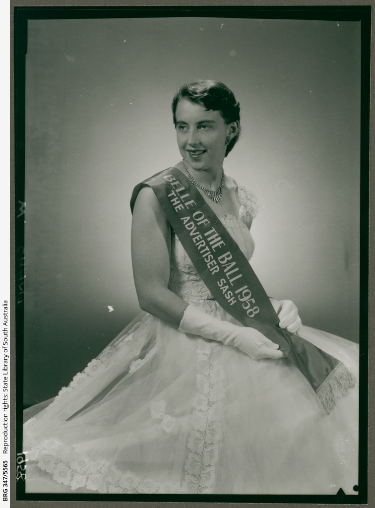 Wendy Chant - Belle of the Ball • Photograph • State Library