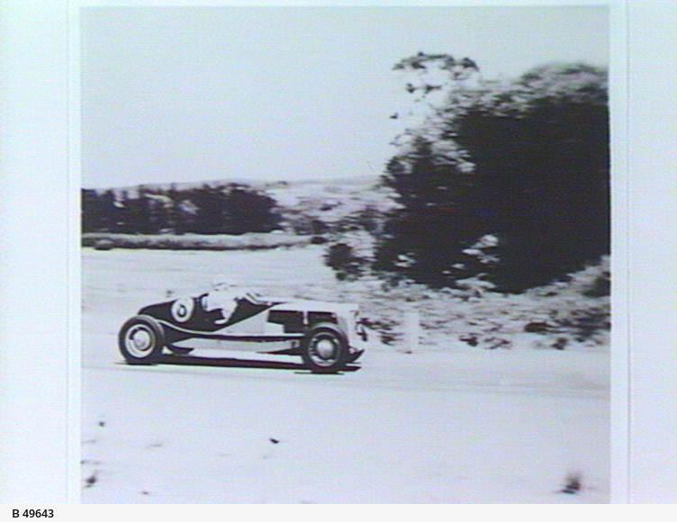 Car racing at Lobethal
