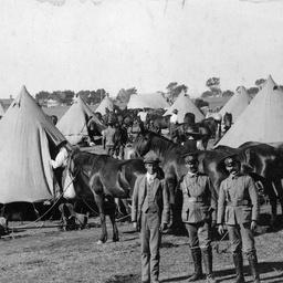 A South Australian army camp