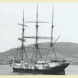 The 'Ravenhill' in an unidentified harbour