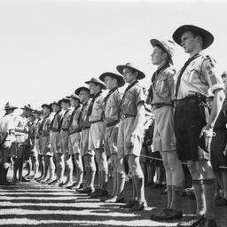 Boy scout inspection
