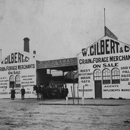 W. Gilbert, Grain Merchants, North Terrace