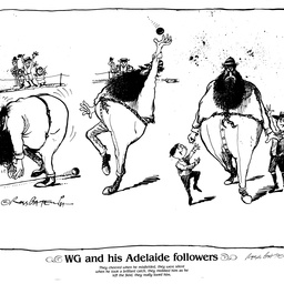 WG and his Adelaide followers