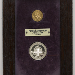 Holden's Motor Body Builders Limited, Peace Exhibition medals