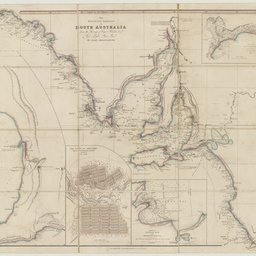 The maritime portion of South Australia [cartographic material] : from the surveys of Captn. Flinders & of Col. Light, Survr. Genl. / by John Arrowsmith
