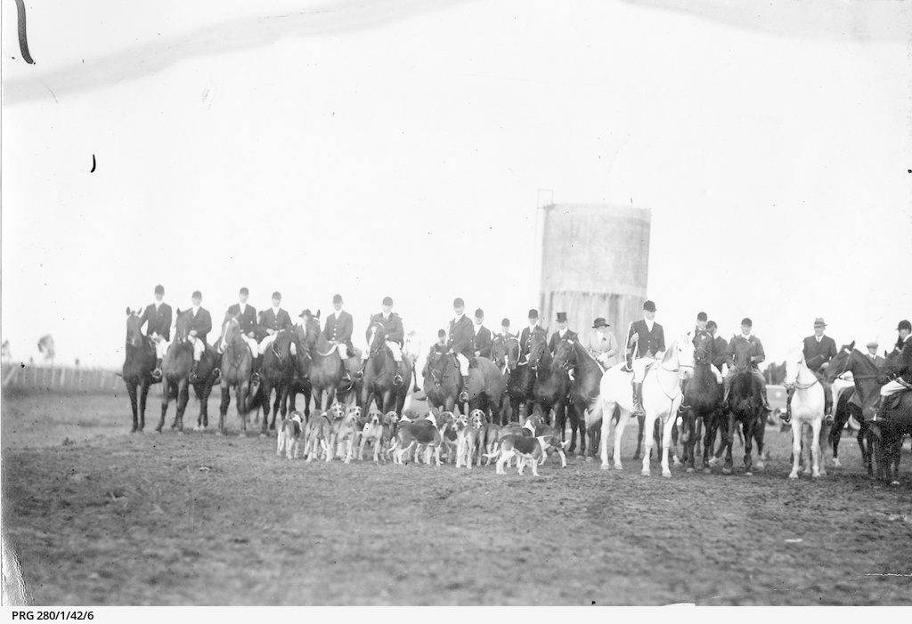 A meeting of the Adelaide Hunt Club • Photograph • State